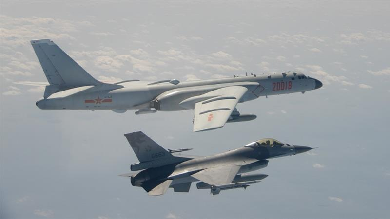 'Chinese military aircraft cross into Taiwan airspace'