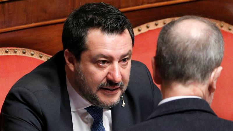 Italian Senate approves lifting of Salvini's immunity