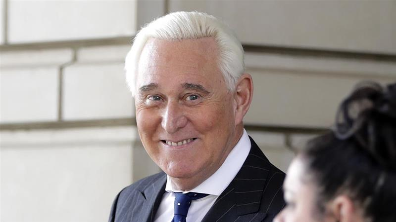 The DOJ intervened after prosecutors recommended seven to nine years in prison for Roger Stone [File: Julio Cortez/The Associated Press]