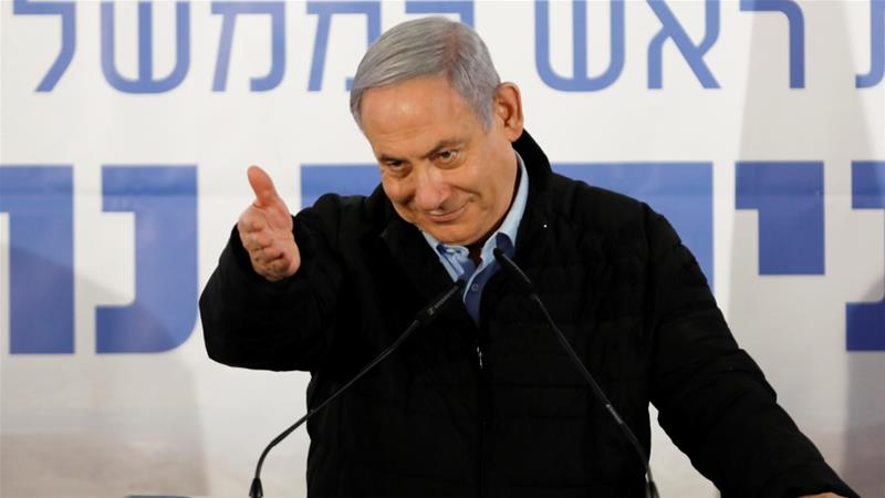 Netanyahu denies the charges and says he is the victim of a politically motivated witch-hunt [File: Nir Elias/Reuters]