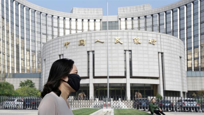 China's central bank has injected liquidity into financial markets several times to support businesses affected by the virus outbreak [File: Jason Lee/Reuters]