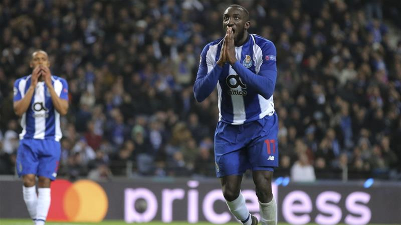 Teammates appear to stop Marega leaving after racist abuse