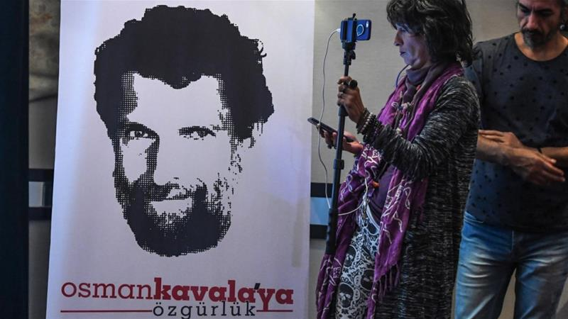 Turkey Re-Arrests Activist Kavala After Shock Acquittal
