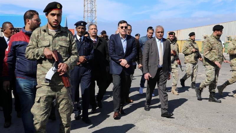 Haftar's forces strike Tripoli port in new escalation