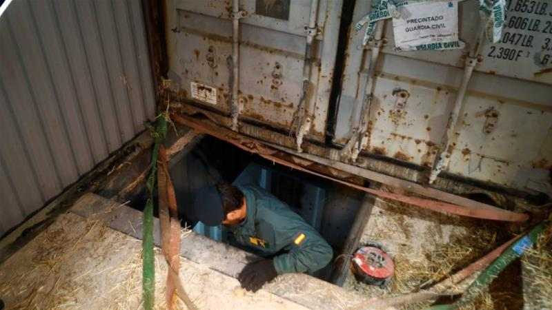 Police find secret cigarette factory 4 meters underground