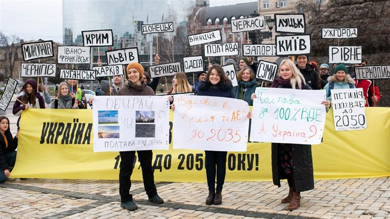 Ukraine climate groups demand fast transition to renewable energy
