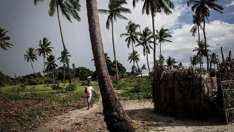 The village of Quitupo in northeast Mozambique will be resettled to make way for a gas project [File: John Wessels/AFP]
