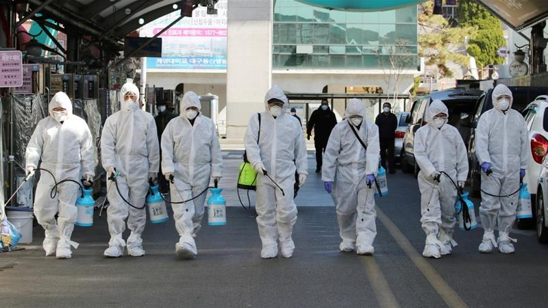 South Korean virus cases jump again, now exceeding 2000