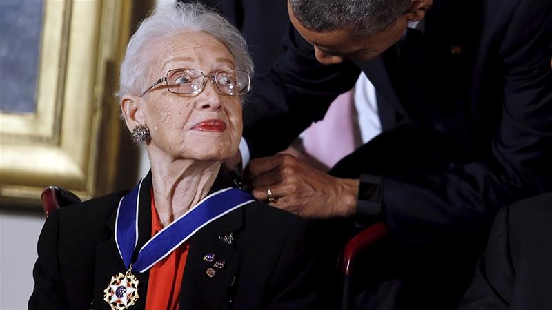 Katherine Johnson, 'American hero' and NASA pioneer, dies at 101