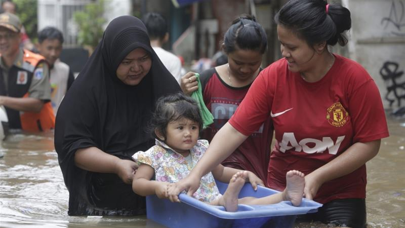 Indonesia is already planning to move its capital as Jakarta is slowly sinking and suffers regular flooding [EPA]