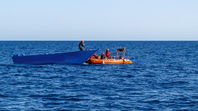 Most migrants make the perilous journey in ill-equipped and unsafe rubber boats [File: Pablo Garcia/AFP]