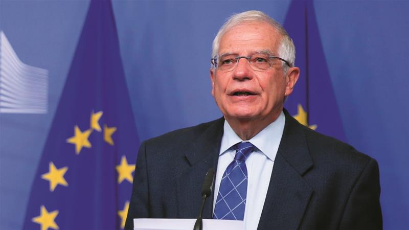 European Union top diplomat Borrell visits Iran 'to de-escalate tensions' over nuclear program