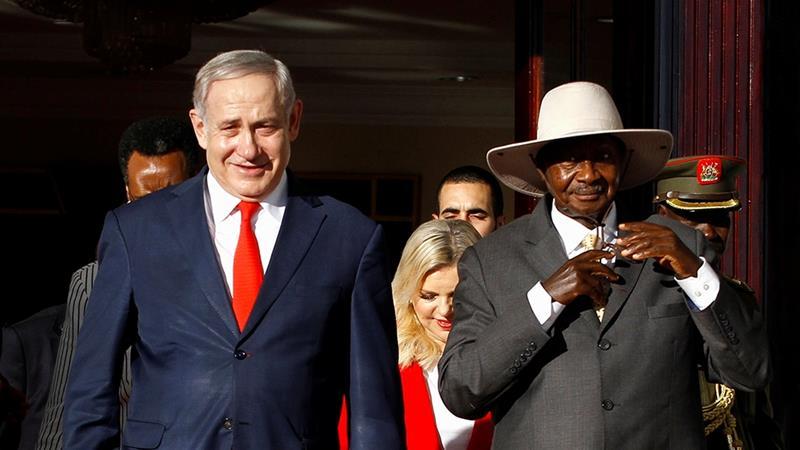 Image result for netanyahu uganda
