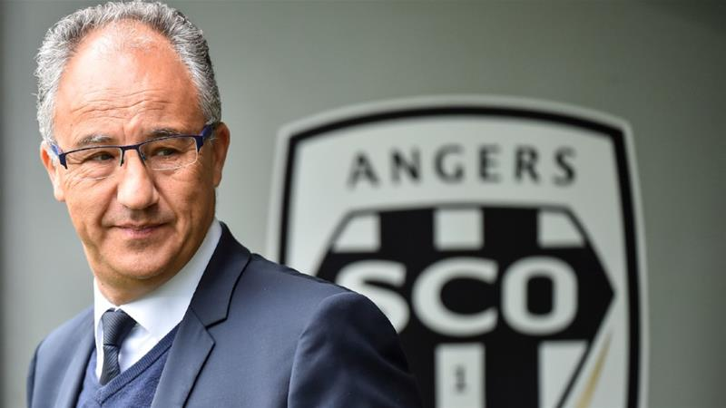 Angers chief Said Chabane has been questioned over allegations of sexual assault [File photo April 28, 2019/Loic Venance/AFP]