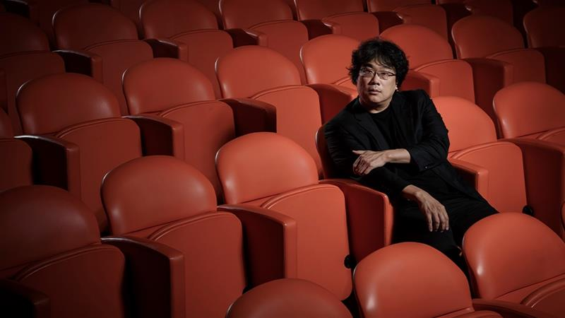 Parasite by Bong Joon-Ho could become the first foreign language film to win an Oscar for Best Picture  [File: Christopher Smith/Invision/AP Photo]