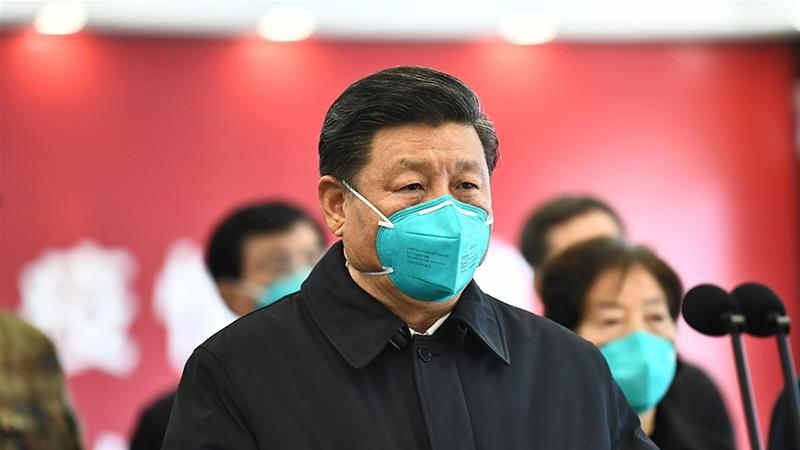 Political show': Xi visits Wuhan as China coronavirus cases slow ...