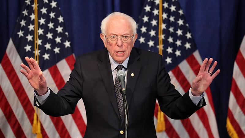 Bernie Sanders suspends campaign for US presidency