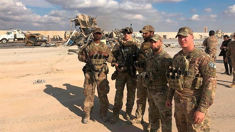 Led forces pull out of third Iraqi base this month