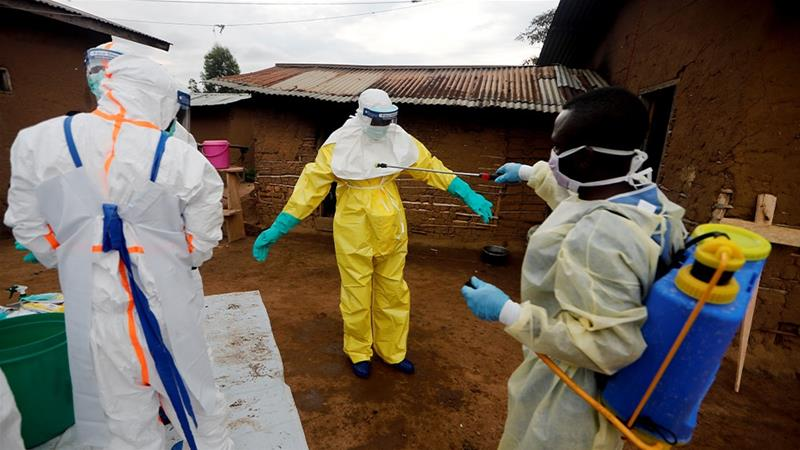 The Ebola epidemic in the country's east has killed 2,280 people since August 2018 [File: Zohra Bensemra/Reuters]