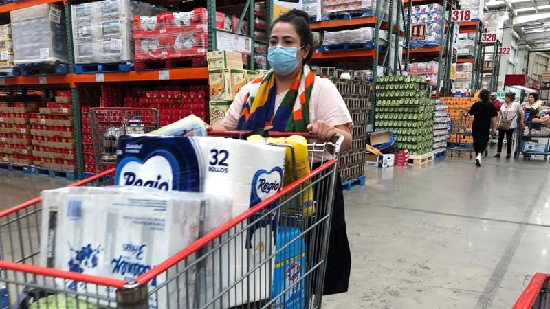 Costco in Reno out of bleach, toilet paper and other basic supplies