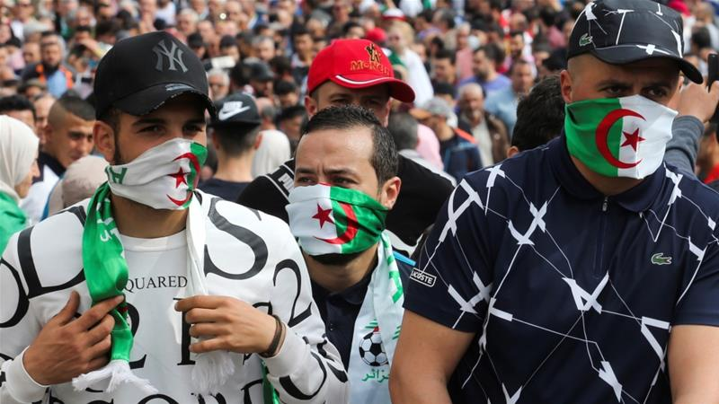 Algerians began staging protests against the reigning order more than a year ago [Ramzi Boudina/Reuters]