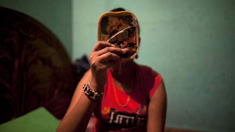 More than 1,500 sex workers are based at Dhaka's Daulatdia brothel, one of the world's largest [File: Andrew Biraj/Reuters]