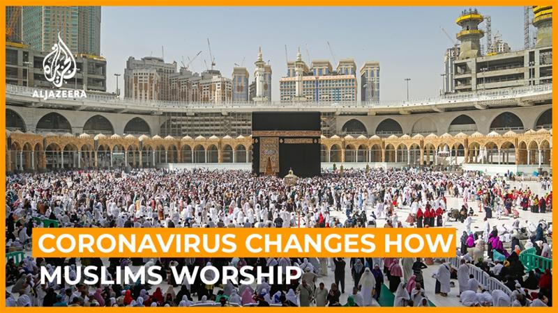 Coronavirus changes how Muslims worship