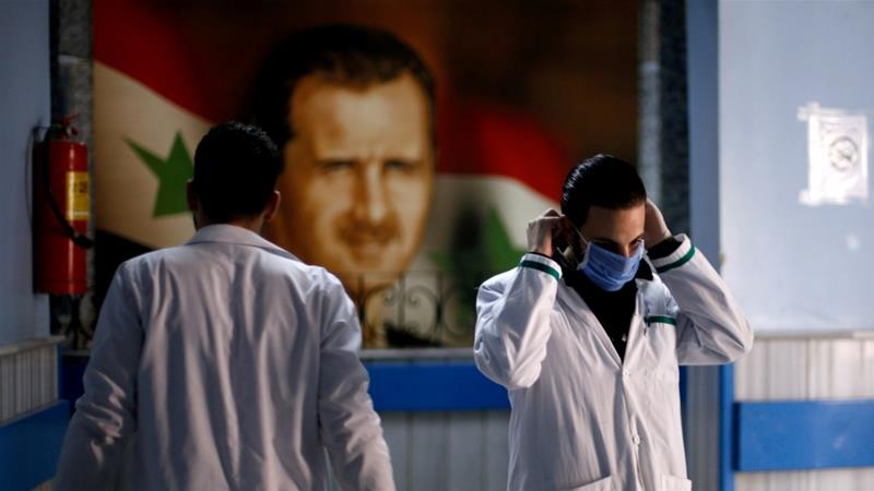 The Syrian government confirmed the first case of coronavirus in the country on Sunday [Omar Sanadiki/Reuters]