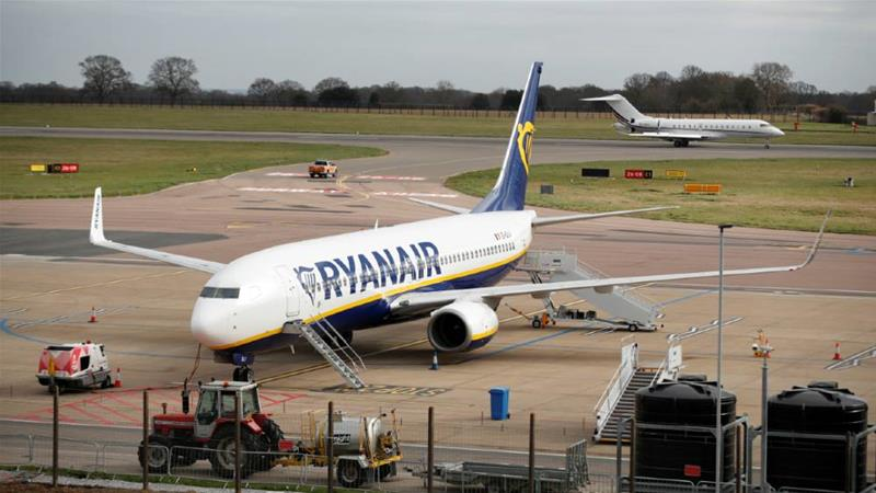 Ryanair is the latest airline to ground its fleet [File photo/Peter Cziborra/Reuters]