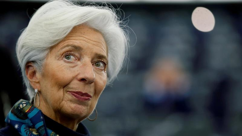 European Central Bank Chief Christine Lagarde put forward the idea on Tuesday, sources tell Reuters, but it ran into opposition from Germany, the Netherlands and other northern European countries that are against any joint debt issuance [File: Vincent Kessler/Reuters]