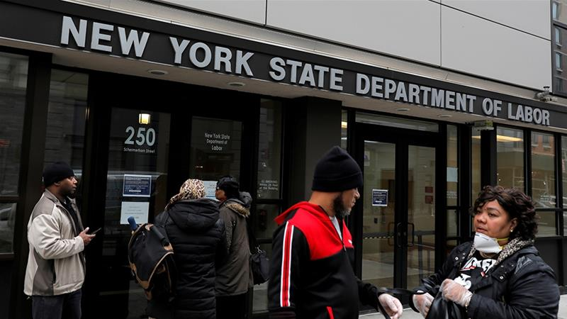 Unemployment claims surge in New York State
