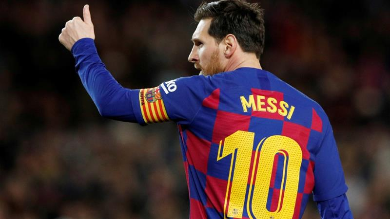 Barcelona's Lionel Messi is one of the world's highest-paid football stars [File: Albert Gea/Reuters]