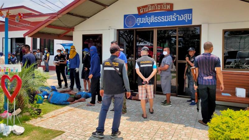 Alleged virus rumor triggers Thai prison riot