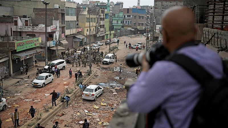 Journalists say attacks on the press during last week's violence show the situation is deteriorating [File: Altaf Qadri/AP Photo]