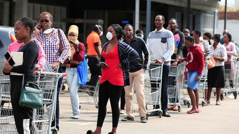 'We'll die of hunger first': Despair as Zimbabwe lockdown begins