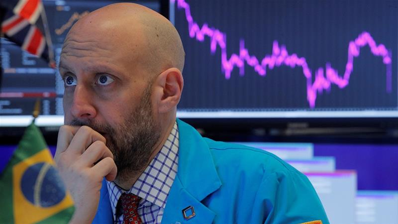 Dow drops more than 800 points at open despite strong jobs report