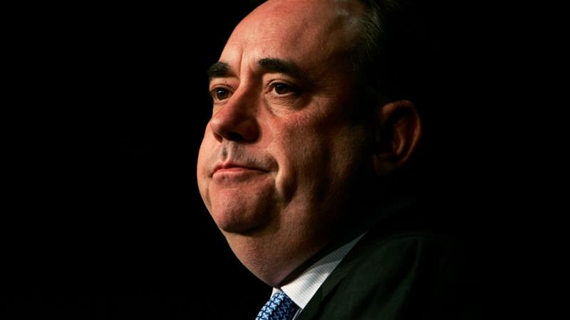 Alex Salmond was formerly leader of the pro-independence Scottish National Party (SNP) and head of Scotland's Government [File: David Moir/Reuters]