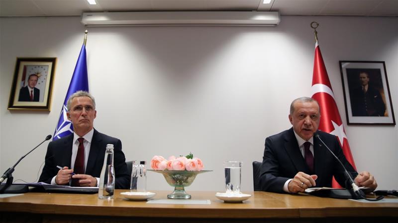 Erdogan demands'concrete support from EU NATO over Syria