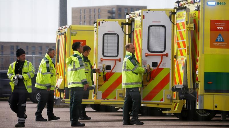 United Kingdom  registers 569 more COVID-19 deaths, toll hits 2,921