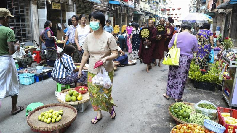 Prices for cereal, sugar, vegetable oil and dairy dropped in March, according to the FAO [File: Thein Zaw/[The Associated Press]