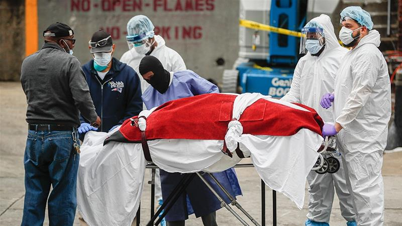 US coronavirus cases surpass 200,000 with more than 4,600 deaths | USA News | Al Jazeera