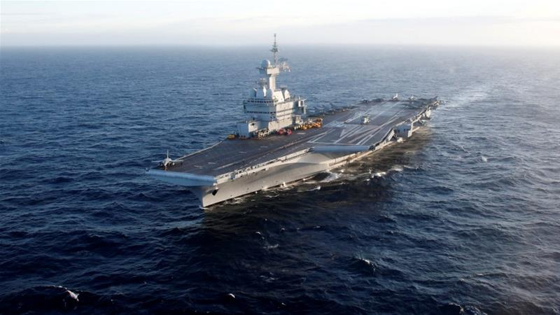 1st LD Writethru: France's aircraft carrier reports 50 confirmed coronavirus cases