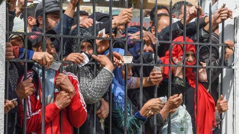 'We need food': Tunisians struggle under coronavirus lockdown