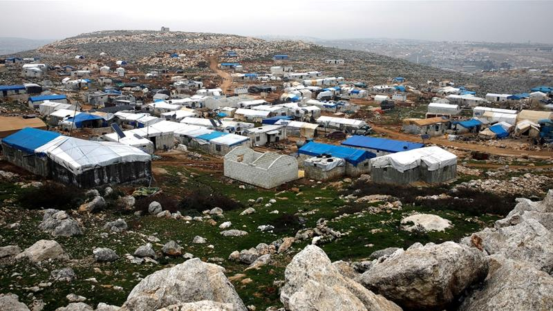 No injuries were reported but activists in the area said the air raids forced hundreds of people to flee their homes to safer areas further north [File: Umit Bektas/Reuters]
