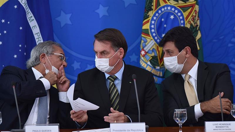 Why I sacked health minister amid COVID-19 crisis - Brazilian President