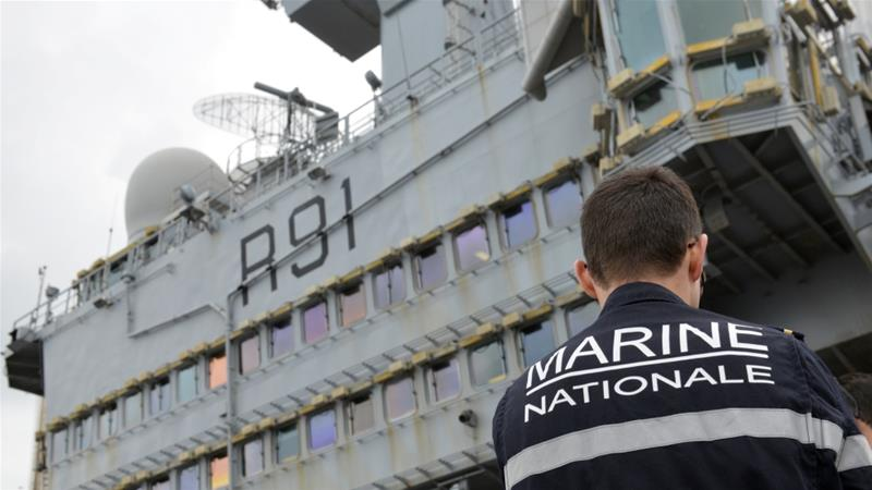 French aircraft carrier reports 1,081 confirmed COVID-19 cases