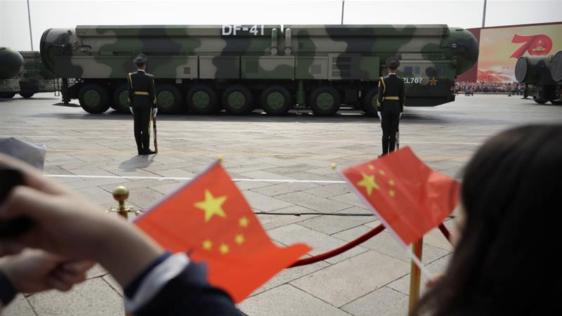 China dismisses US claim it conducted low-level nuclear test ...