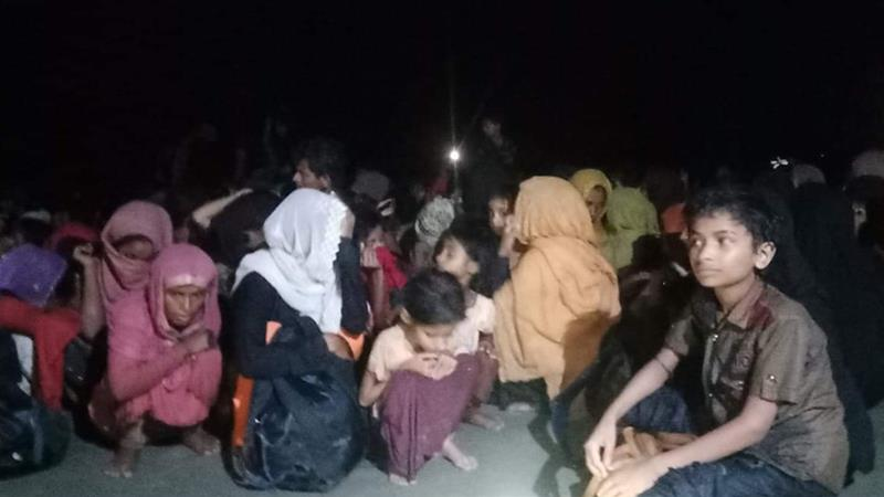 Almost 400 Rohingya rescued, dozens die after two months at sea