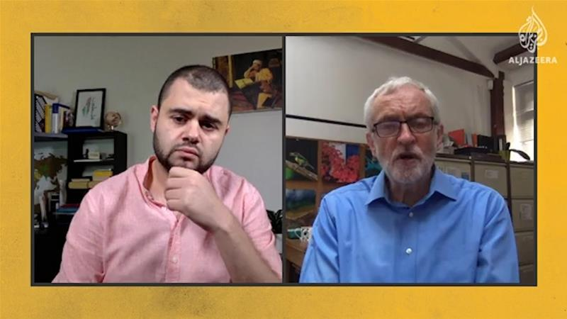 Jeremy Corbyn speaks with Al Jazeera's Jamal Elshayyal about how the coronavirus crisis will impact the gap between rich and poor [Al Jazeera]