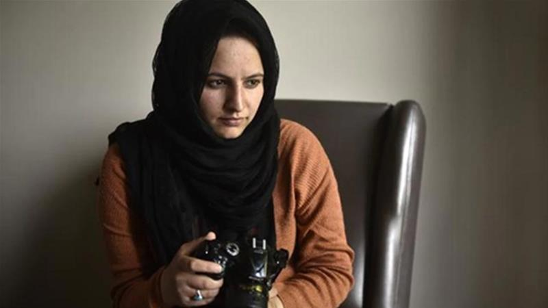 Zahra, 26, said the police statement only called her a 'Facebook user' and not a journalist [Courtesy of Masrat Zahra]